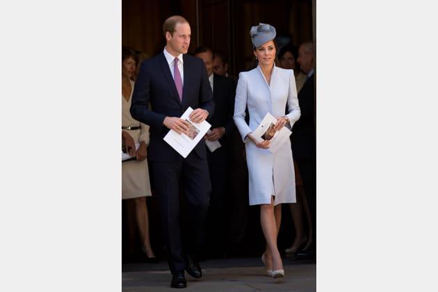 Kate Middleton le 20avril 2014