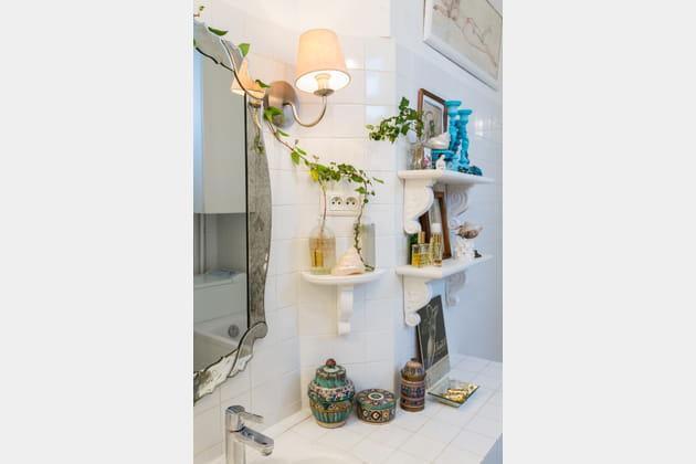 Une salle de bains éthnique