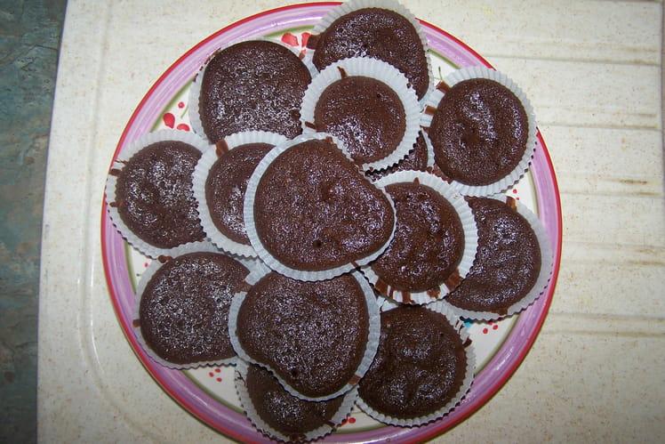 Fondant au chocolat noix de coco