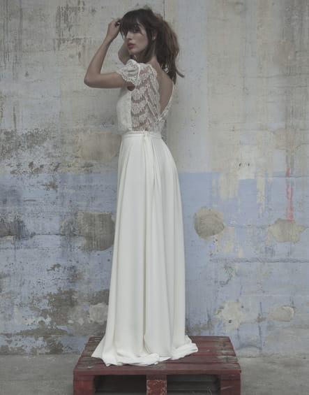 Robe de mariée Nine d'Elise Hameau