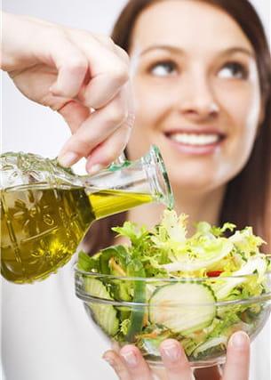 préférez l'huile d'olive et l'huile de colza.