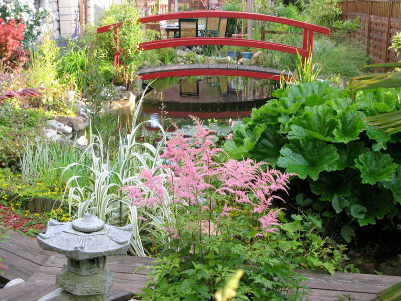 Jardin aquatique japonisant for Jardin aquatique