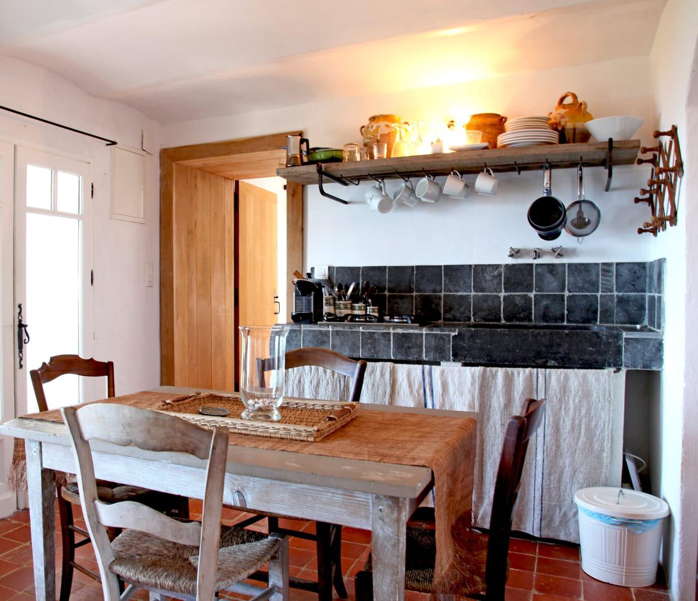 le style cuisine à l'ancienne, même dans un petit espace