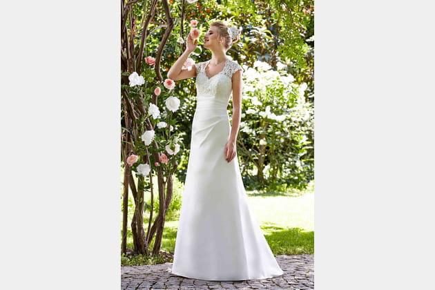 Robe de mariée Silène de Point Mariage
