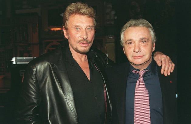Johnny Hallyday et Michel Sardou: touche pas à ma fille
