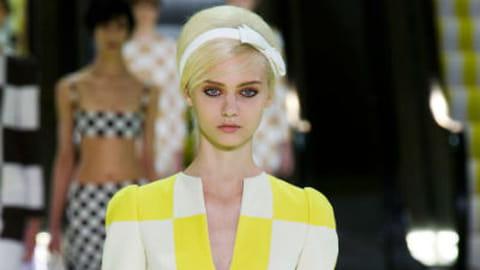 Fashion week Paris : défilé Louis Vuitton printemps-été 2013