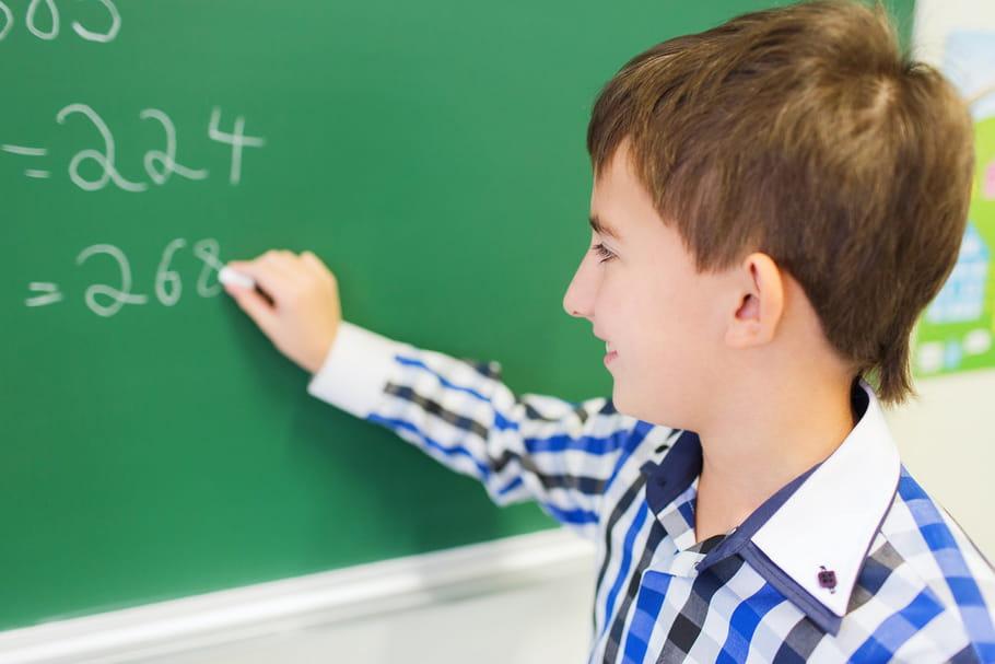 Les écoliers français en bas du classement en maths et en sciences