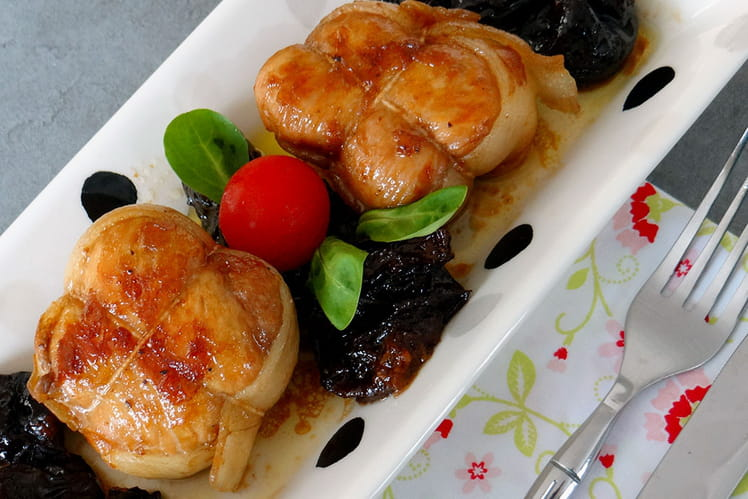Paupiettes de veau aux pruneaux et l armagnac - Cuisiner paupiettes de veau ...