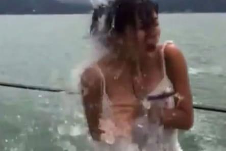Eva Longoria Ice Bucket