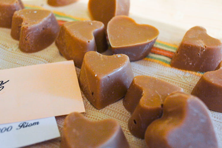 Coeur de chocolats Dulcey