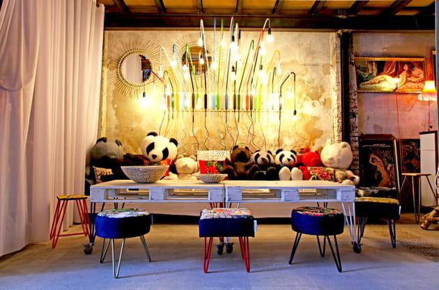 Table de salle à manger en palette