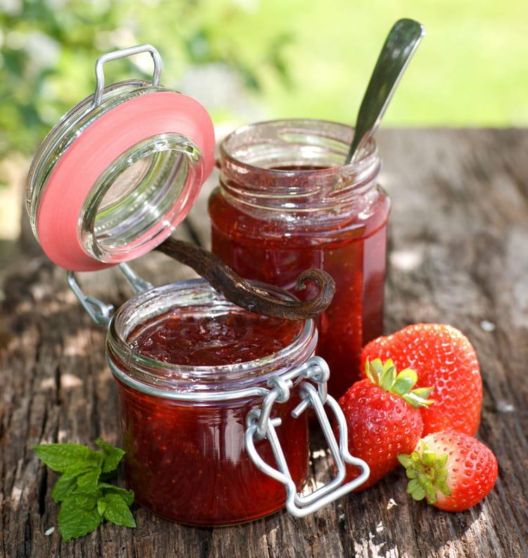 confiture de fraise qui ne coule pas
