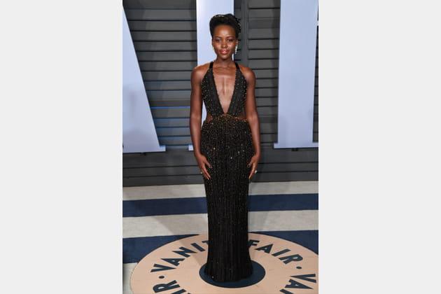 Lupita Nyong'o à la soirée Vanity Fair des Oscars