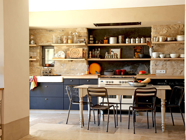 peinture ardoise pour la cuisine. Black Bedroom Furniture Sets. Home Design Ideas