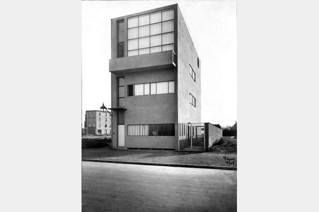 Photographie de la Maison Guiette, Le Corbusier et Pierre Jeanneret