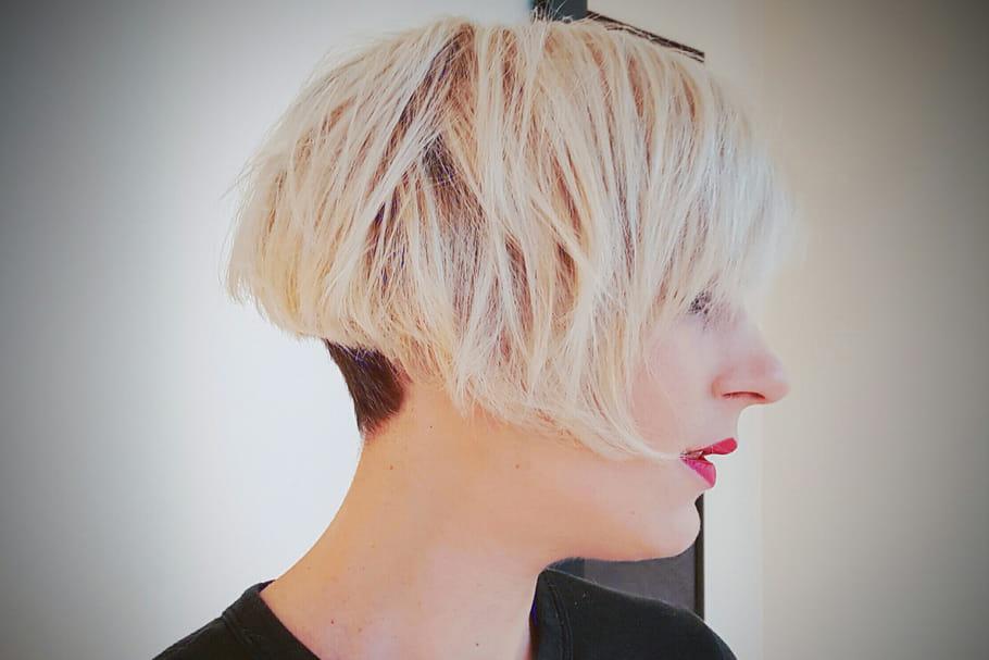 J'ai testé pour vous… coupe courte et blond polaire chez Franck Provost