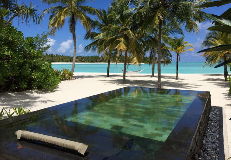 One only reethi rah r ve de luxe aux maldives for Piscine privee lille