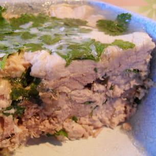 rouelle de jambon persillé
