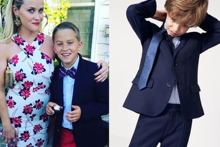 Une veste de costume pour le fils de Reese Witherspoon