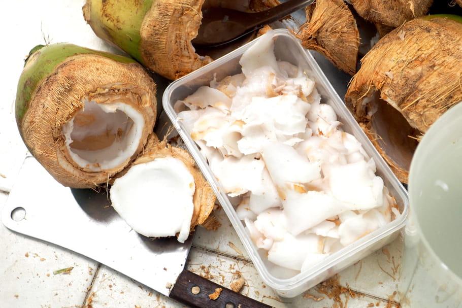 Comment ouvrir une noix de coco?