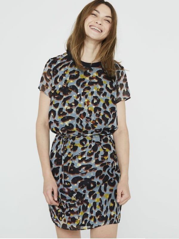 Robe Leopard De Ikks