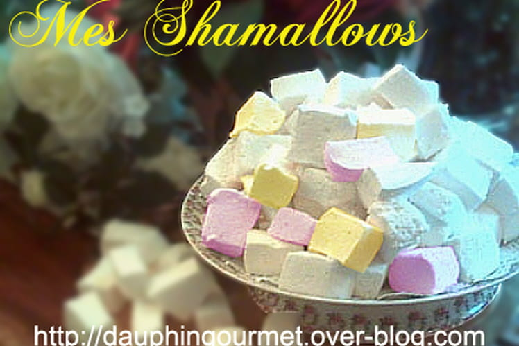 Shamallows (pâte de guimauve)