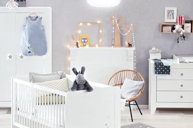 Une d co mixte pour une chambre de b b fille et gar on - Decoration chambre de bebe mixte ...