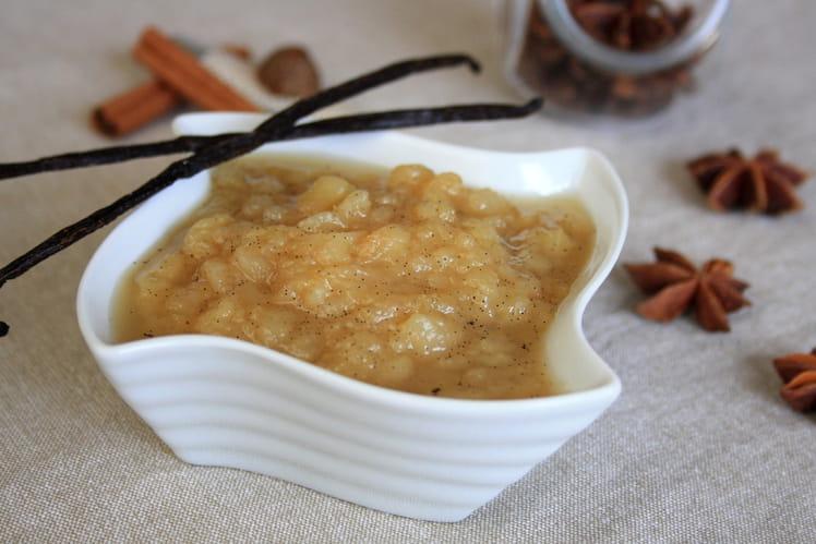 Compote de poires au miel et aux épices