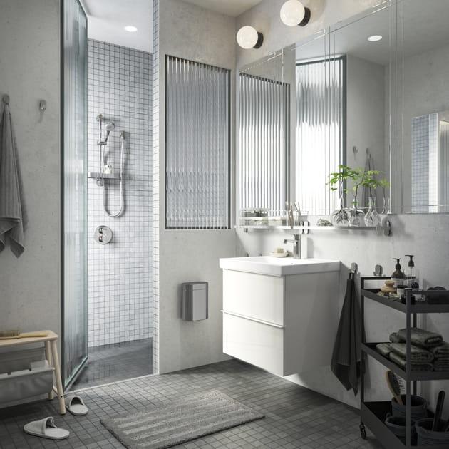 20photos de salles de bains d'inspiration industrielle