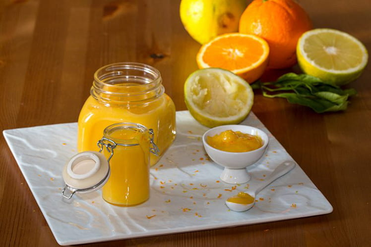Crème curd orange-bergamote