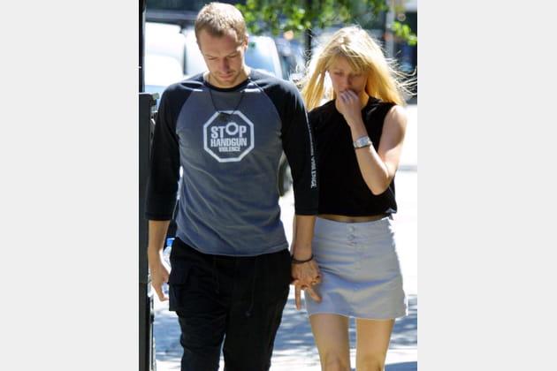 Gwyneth Paltrow et Chris Martin, main dans la main à Londres