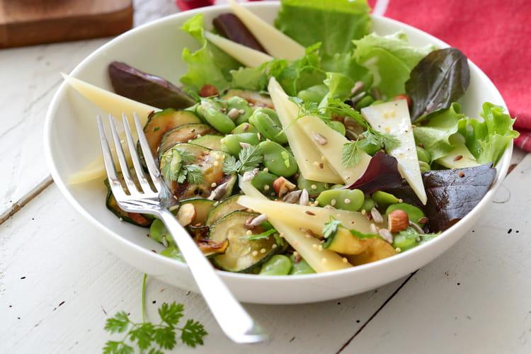 Salade de Printemps à l'AOP Ossau-Iraty