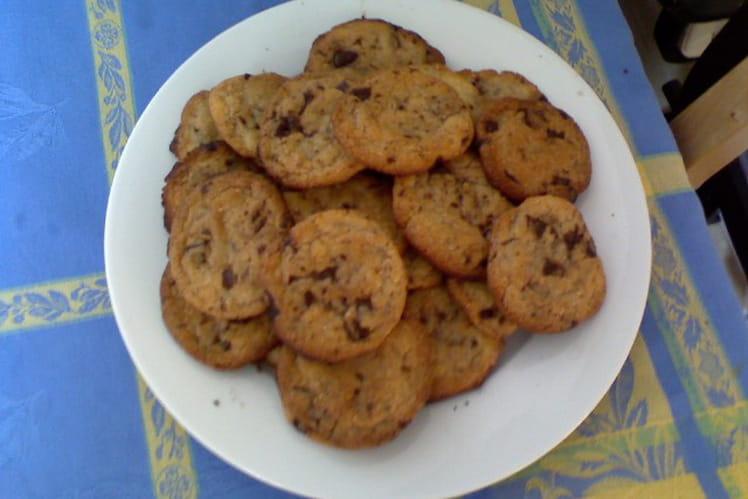 Cookies à la poudre d'amandes et pépites de chocolat