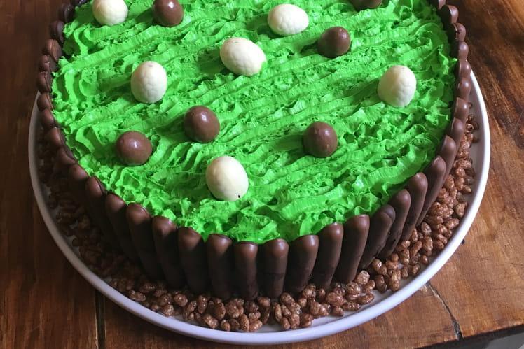 Gâteau de Pâques aux fingers et coco pops