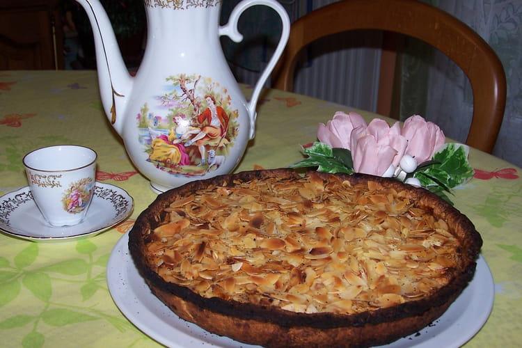 Tarte amandine pomme/poire
