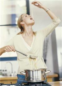 vous verrez que vos pâtes cuiront, même avec moins de sel dans l'eau de cuisson.