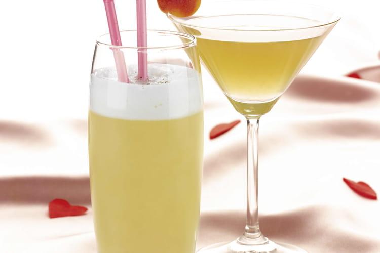 Cocktails Saint-Valentin La Pomme d'or d'Aphrodite