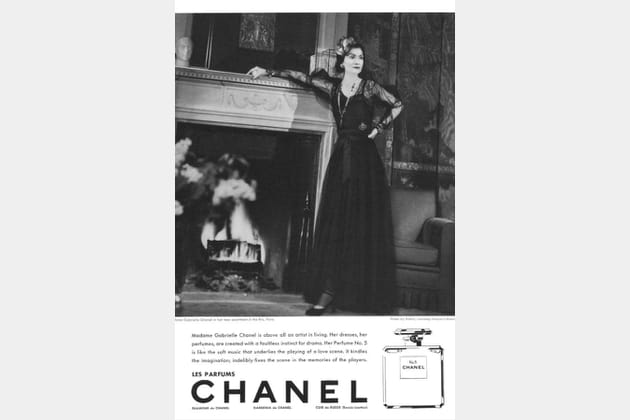 La campagne Chanel N°5de 1937