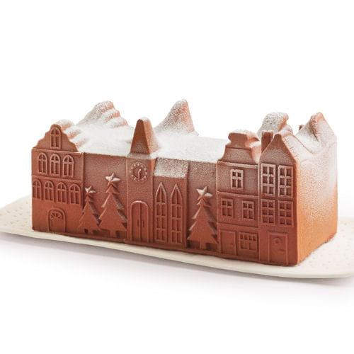 Picard Boule De Noel.Bûche Glacée Chocolat De Picard