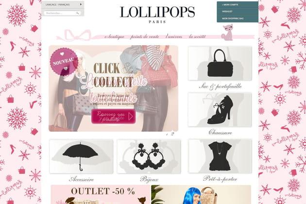 Le e-shop de Lollipops