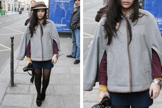 Fashion week : les street looks des défilés parisiens PAP automne-hiver 2011-2012 33