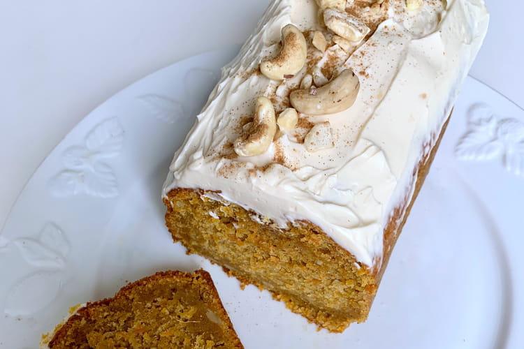Carrot cake aux noix de cajou