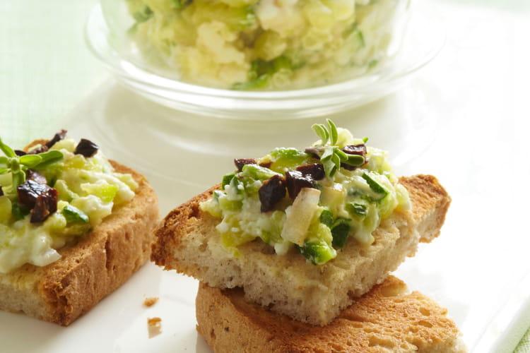Caviar de courgettes aux saveurs grecques sans gluten