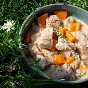 blanquette de veau au roquefort