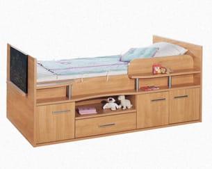une chambre d 39 enfant moins de 1000 euros. Black Bedroom Furniture Sets. Home Design Ideas