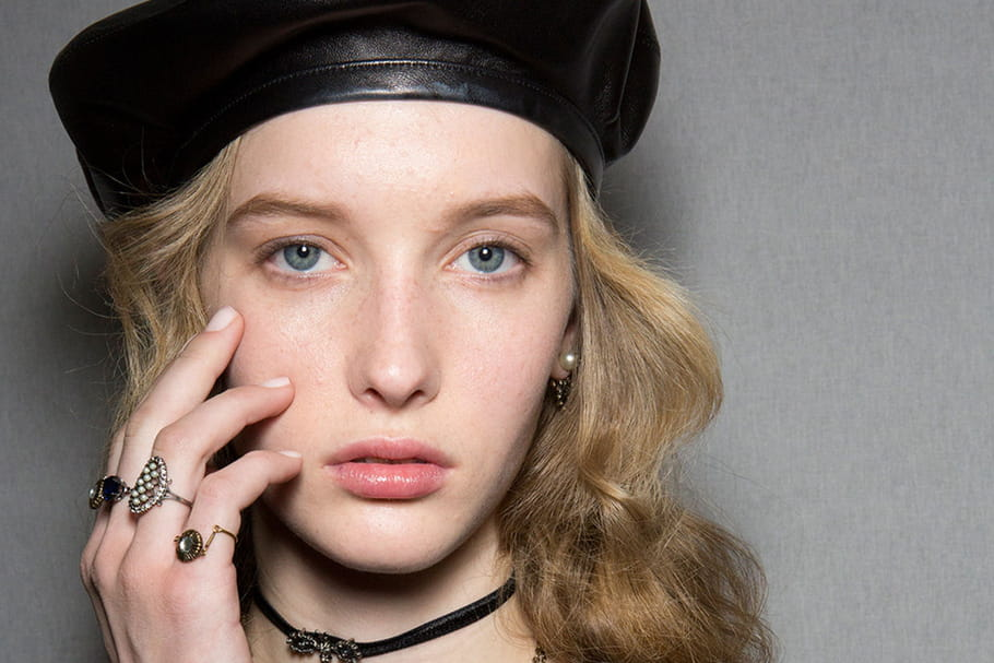 Le maquillage léger du défilé Christian Dior