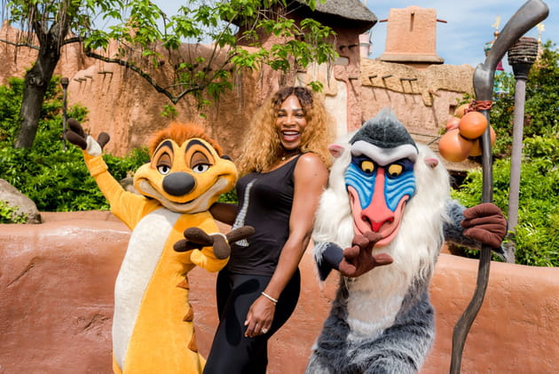 Serena Williams débarque à Disneyland Paris
