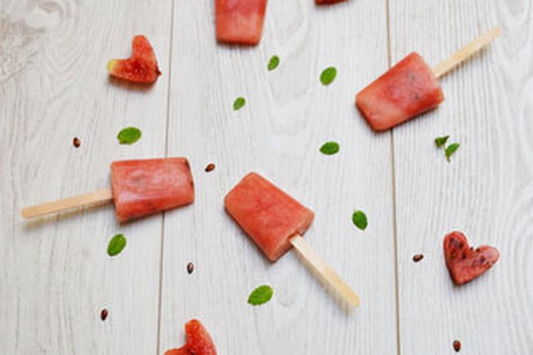 Popsicle pastèque