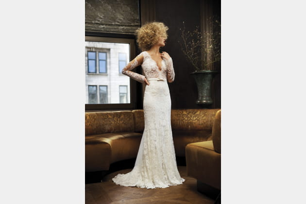 Robe de mariée sirène, Olvi