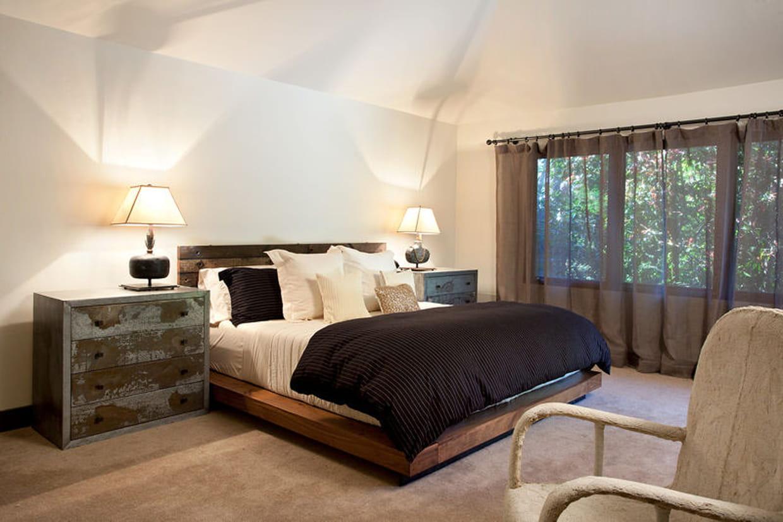 inspiration nature dans la chambre. Black Bedroom Furniture Sets. Home Design Ideas